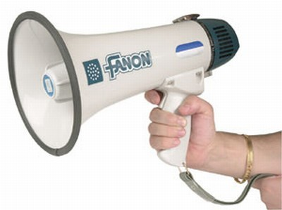 5 watt megaphone