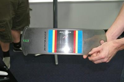 Bontrager fit stool measurement device