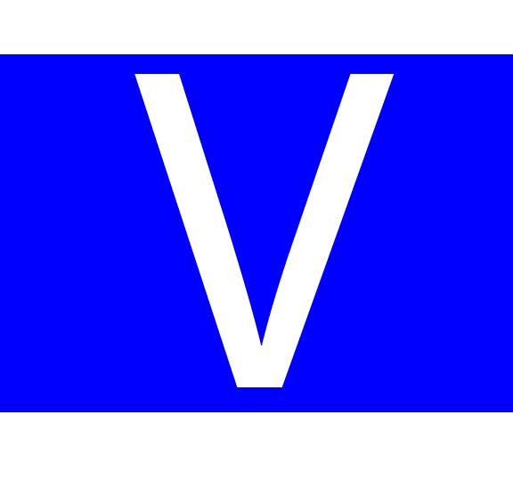 Em gets to wear the Big V