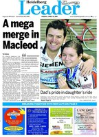 Emily and Dino are front page news